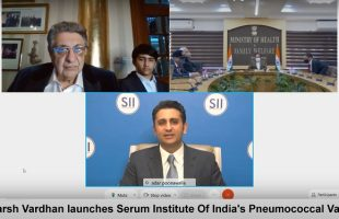 dr-harsh-vardhan-launches-serum-institute-of-indias-pneumococcal-conjugate-vaccine-pneumosil